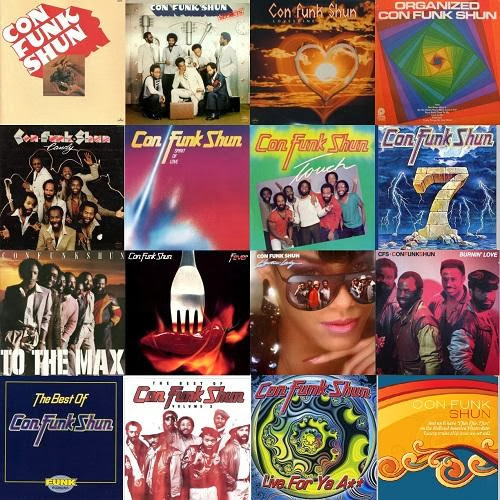 Con Funk Shun - Collection (15 Albums)