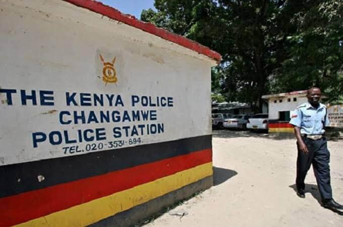 Changamwe police station. PHOTO   BANA