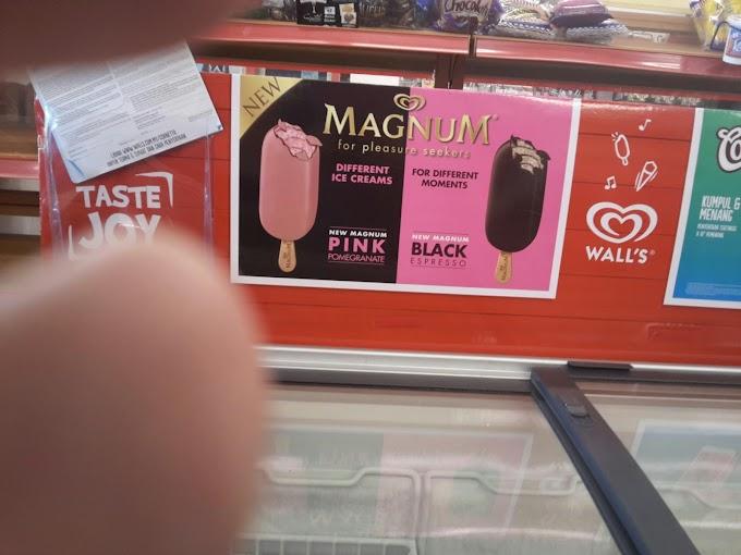 Magnum Pink Pomegranate Pertama Kali !!