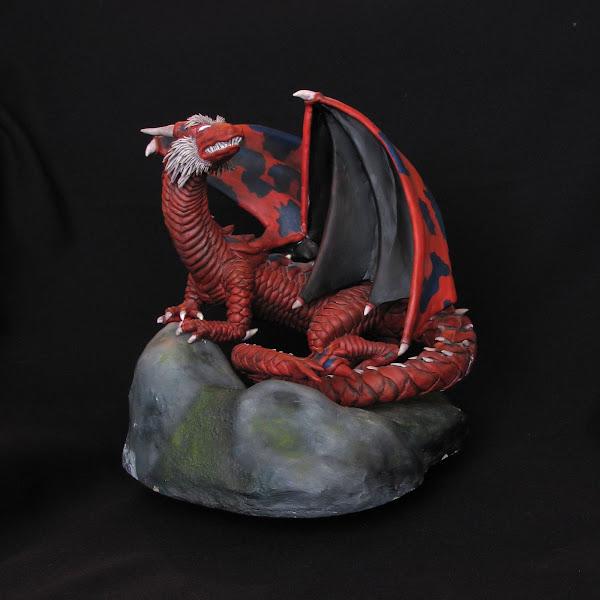Dragon 3 en masilla epoxica