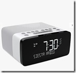 DAB Bluetooth Clock Radio with Wireless Charging Pad