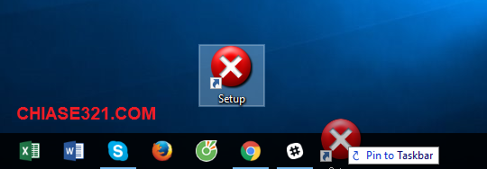cách ghim thư mục vào thanh Taskbar