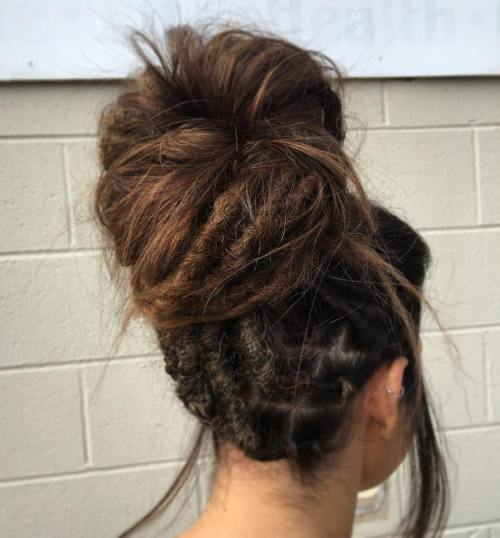 The Last Trendy Dreadlock Styles In Current Year For  woman 10