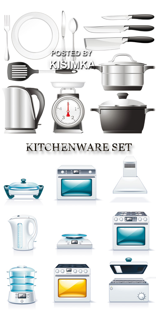 Stock: Kitchenware set