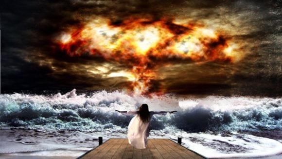 Temos uma bomba ao mar! Uma vista bombástica!