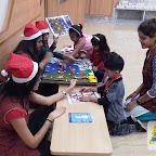 Christmas Celebration by Nursery Morning Section at Witty World, Chikoowadi (2017-18)