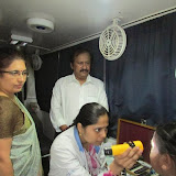 Eye Camp @ Hosahalli-Vijayanagar on 18-07-2013