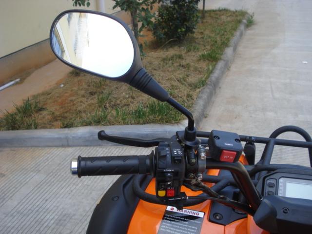 500cc 4wd Rubicon ATV left controls