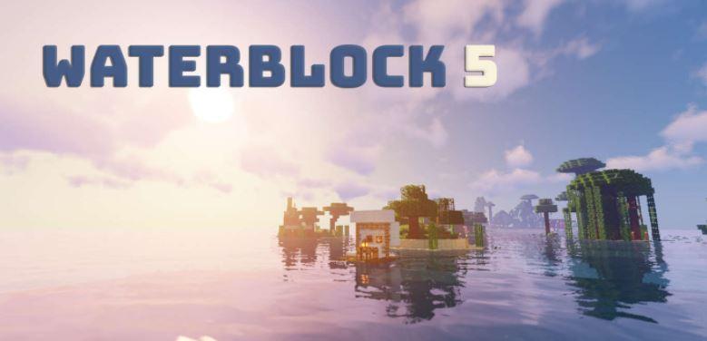 Waterblock 5, minecraft survival