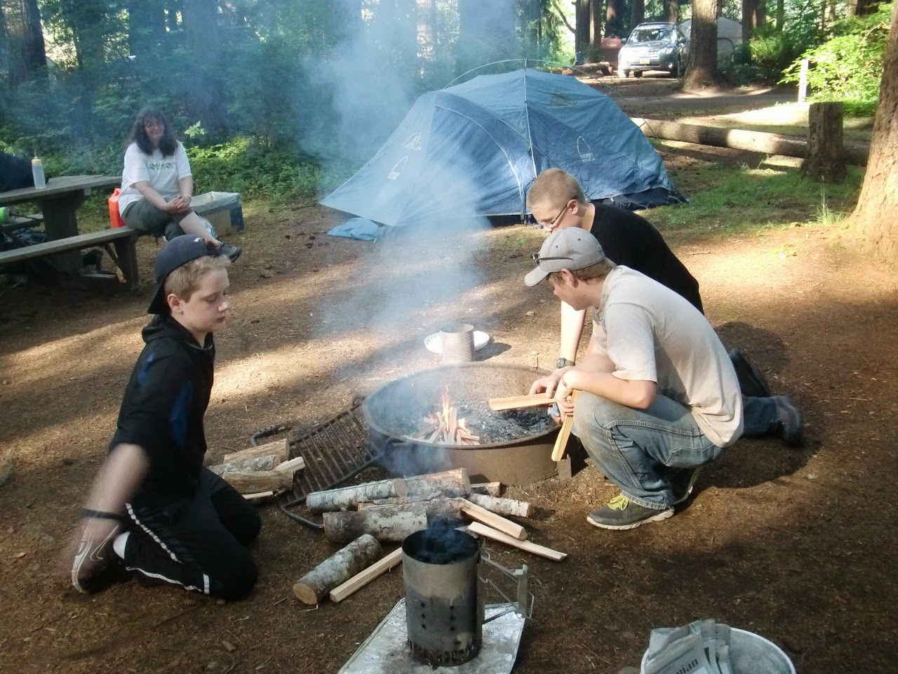 Camp at Millersylvania