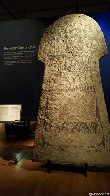 displays of the Norse mythology and their belief in life and beyond