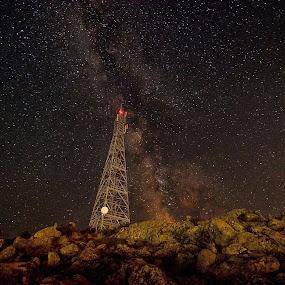 antenna by Georgos Tsamakdas - Landscapes Starscapes