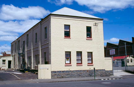 Penitentiary Remnant Building, 59 William St, Launceston, this building was built in the period before 1835