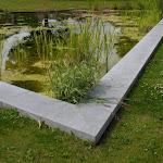 5 - Couvre-murs autour d'une pièce d'eau