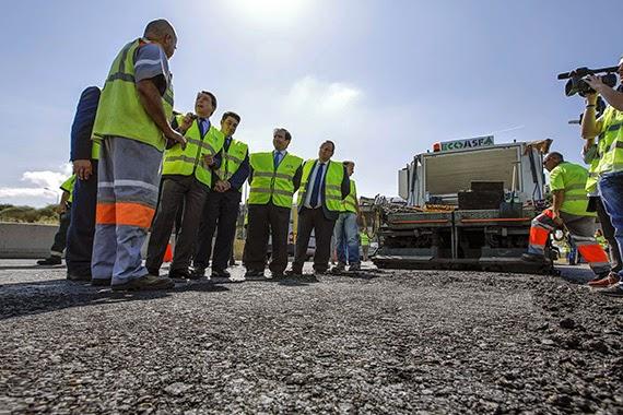 La 'Operación Asfalto' mejorará 143 kilómetros de carreteras de la Comunidad de Madrid