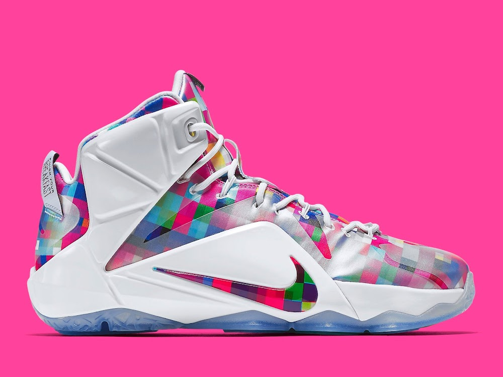 best sneakers f095c 14c36 LeBron 12 EXT Fruity Pebbles Official Look amp Release Info ...