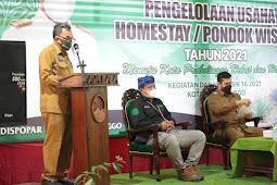 Buka Pelatihan Usaha Homestay Wali Kota Probolinggo Tekankan Protokol Kesehatan