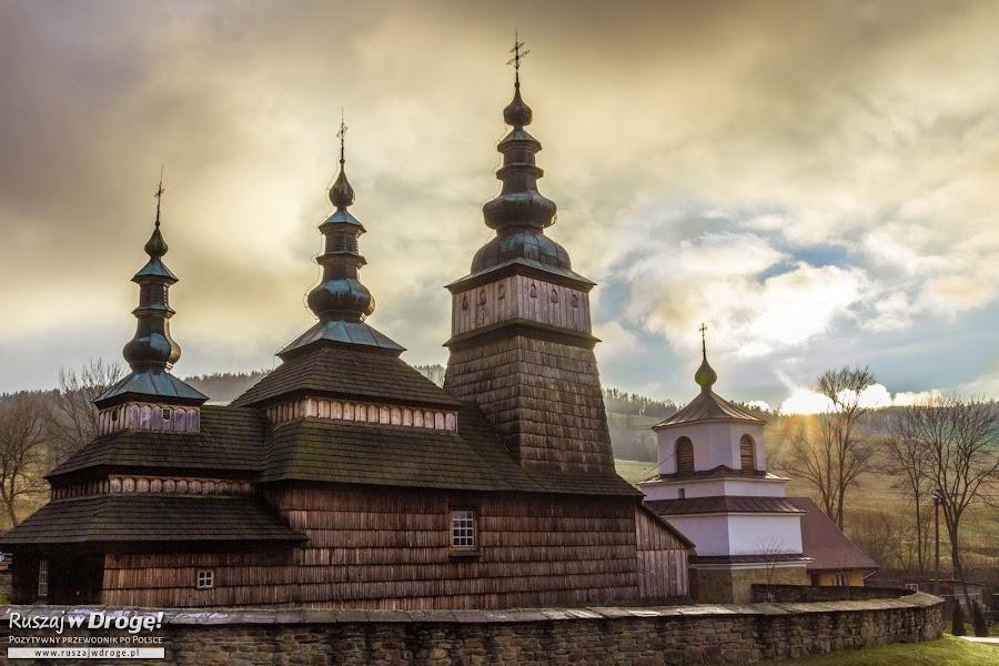 Drewniana cerkiew w Owczarach