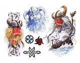 Design Of Magical Tattoo 6