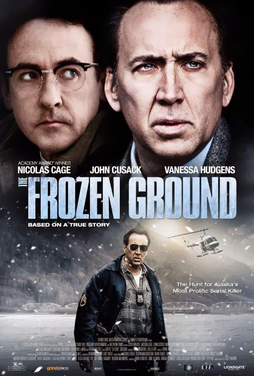Poster Of English Movie The Frozen Ground (2013) Free Download Full New Hollywood Movie Watch Online At Alldownloads4u.Com