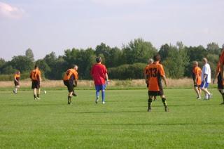 Mecz: Olimpia Oldboy'e - pracownicy Urzędu Miejskiego w Brzesku 06.09.2008r.