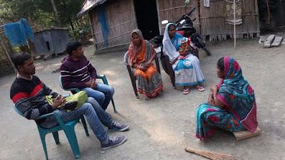 Support visit at Tinkonia Pt II, Bongaigaon