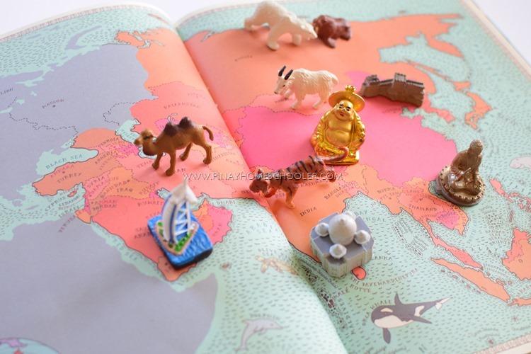 Montessori Inspired ASIA Continent for Preschoolers