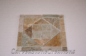 Flooring, Flooring & Mosaics, Interior, Mosaic, Natural, Pattern, Quartzite, Serengeti Gold, Stone, Tile, Tumbled