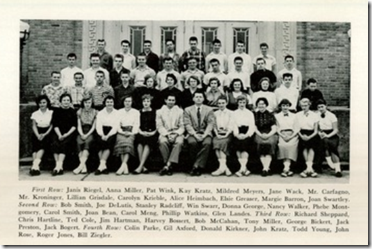 1957 Junior Class Photo