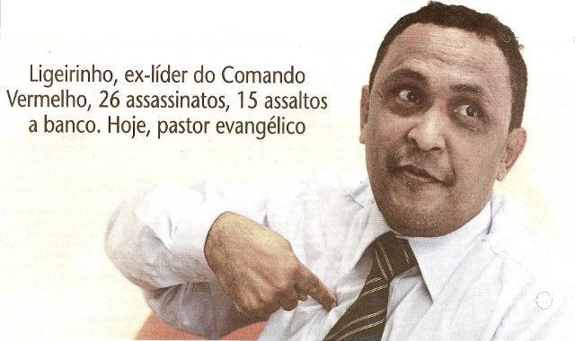"""Resultado de imagem para Ex-líder do Comando Vermelho """"Ligeirinho"""", Aldidudima Salles"""