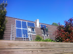 Tolheksbos te Hoofddorp; montage zonnepanelen