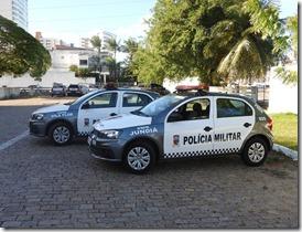 Jundiá e Vila Flor recebem viaturas policiais