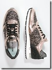 Noclaim glitter trainers at Zalando