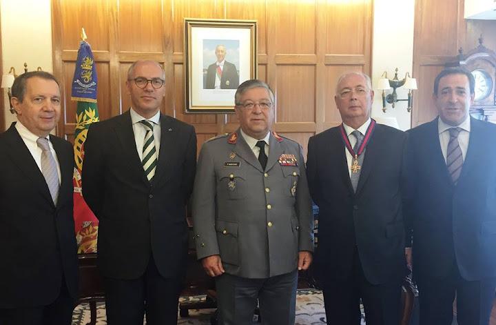 Orlando Lourenço agraciado com Medalha Cruz de São Jorge