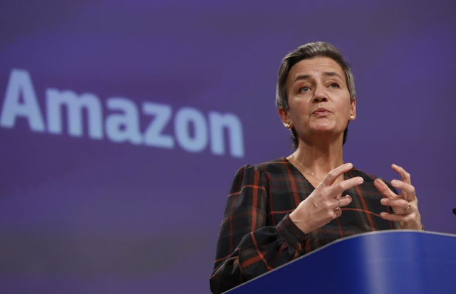 International News Technology Business amazon.com inc AP Top News Europe EU files antitrust charges against Amazon over use of data