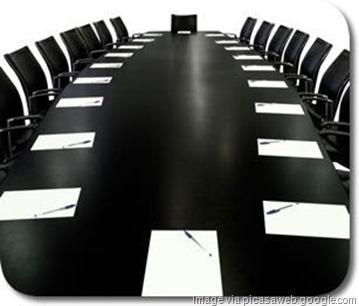 boardroom biz concept