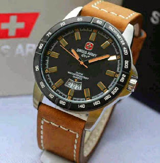 Jual jam tangan Swiss Army SA2866 soft brown