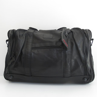 Tumi Leather Luggage