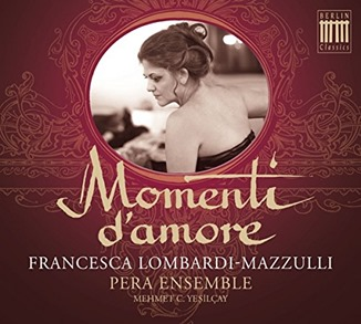 BEST EARLY MUSIC RECORDING OF 2015 - MOMENTI D'AMORE (Berlin Classics 0300664BC)