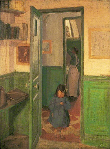 Harold Gilman - In Sickert's House