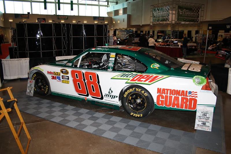 Dale Jr's car.