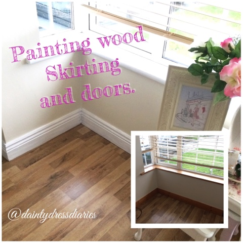 dainty 39 s diy painting skirting boards the dainty dress. Black Bedroom Furniture Sets. Home Design Ideas