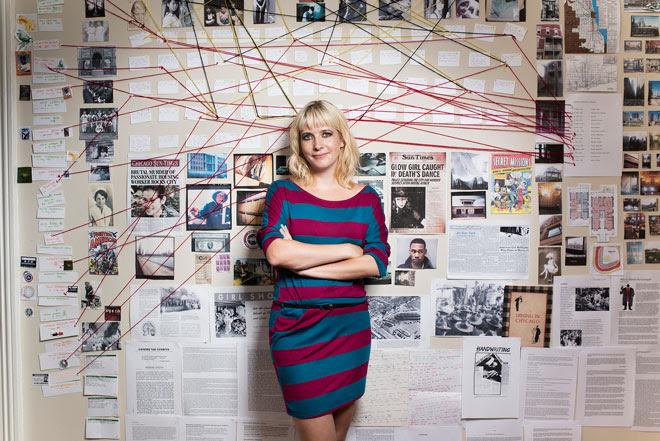 Lauren Beukes enmarañada en su historia