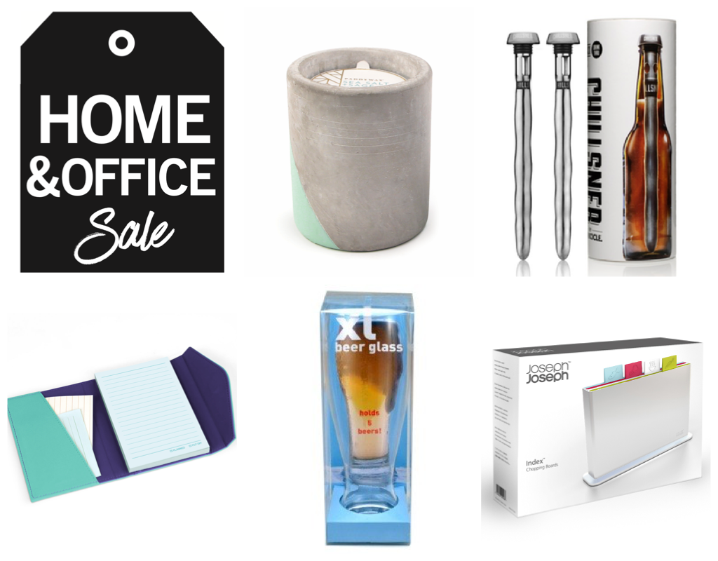 Home office sale items header