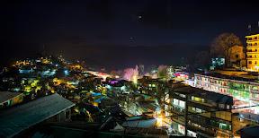 Night view of Muree