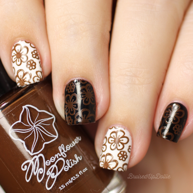 Moonflower Polish Marron