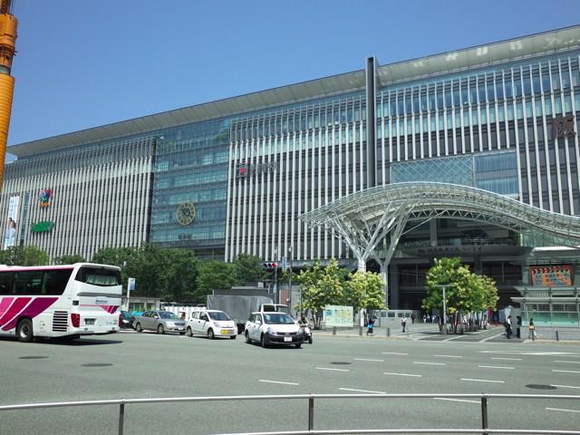 博多駅の外観(博多口側)