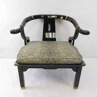 Black Lacquer Century Chair