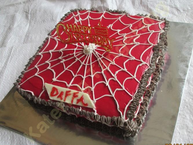 Kue Ulang Tahun Spiderman Nest