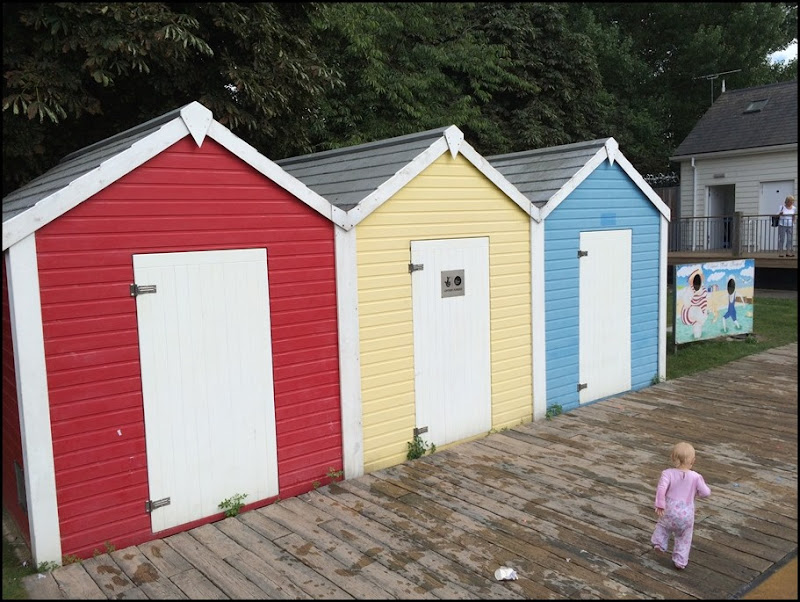 Beach Huts in Dartford Central Park